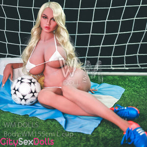 Huge Boobs Soccer Star Doll - Lexi