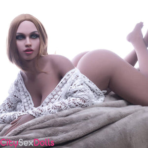 Huge Tits Blondie Sex Doll trying to seduce