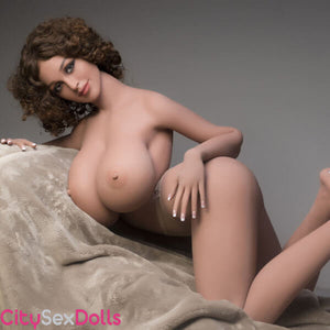 J-Cup Boobilicious Sex Doll with Curly Hairs - Abby