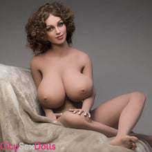 Load image into Gallery viewer, Large melons of Boobilicious Sex Doll with Curly Hairs