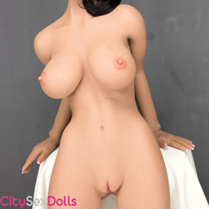 Nkaed body of Boobilicious doll with Black hair