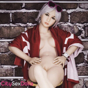 Nude Chinese Petite lifelike Sex Doll with an attitude