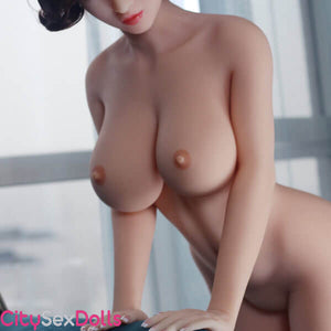 Nude bobs of Sex Doll in a Hotel Room