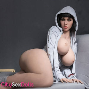 "163cm (5ft 4"") H-Cup Real Sex Doll with Big Round Butt - Jasmine"