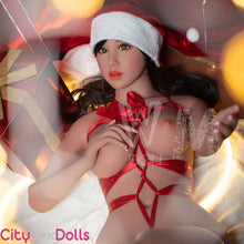 Load image into Gallery viewer, Santa Lovedoll with huge Melons getting naked