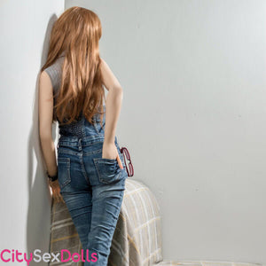 Sex Companion Love Doll showing her back