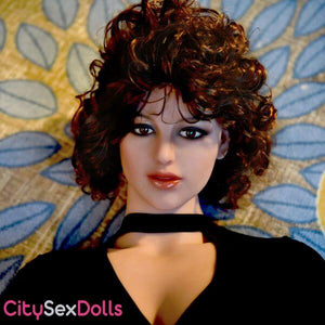 Sex Doll with Curly Hair with EM head 239