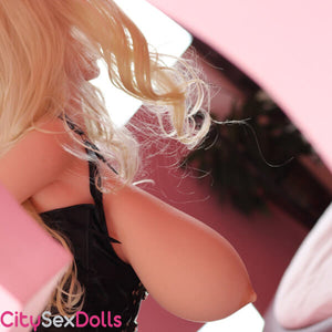 Sex Doll with Huge Jiggling Boobies hanging