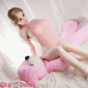 Sexy Adorable Lovedoll in pink dress