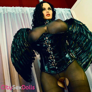 Sexy pussy of Halloween BBW Sex Doll