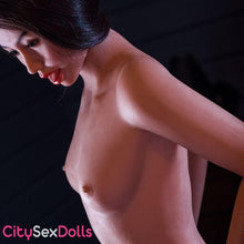Load image into Gallery viewer, Small boobs of Real Doll Sex Robot with Tight Ass