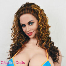 Load image into Gallery viewer, Super Real Sex Doll with busty beauty closeup