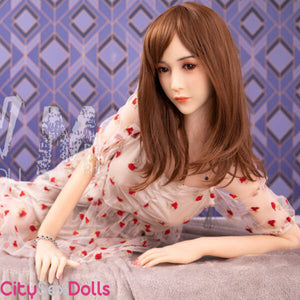 TPE Body with Silicone Head Love Doll