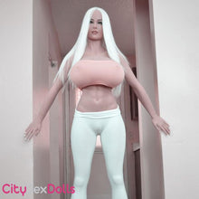 Load image into Gallery viewer, Tight body of Pure Blonde BBW Sex Doll