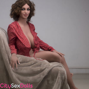 True Boobilicious Sex Doll with Curly Hairs