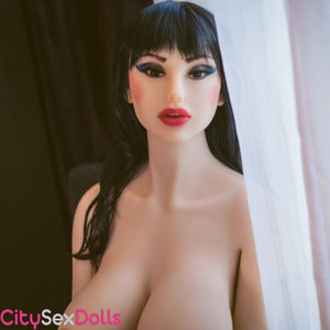 WM head 58 on Fat Butt Curvy Sex Doll with Big Boobs