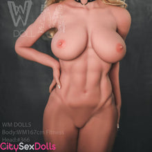 "Load image into Gallery viewer, 167cm (5ft 5"") Fitness Body CrossFit Sex Doll with Killer Abs - Sahar"