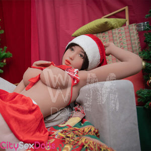 sexy hot Santa Lovedoll with huge Melons