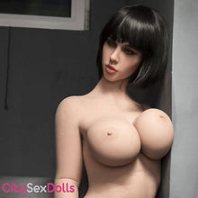 "Load image into Gallery viewer, 163cm (5ft 4"") H-Cup Real Sex Doll with Big Round Butt - Jasmine"