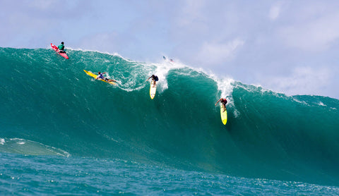 John John Florence at the Quicksilver Big Wave Invitational