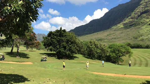 Makaha Golf 18th Green