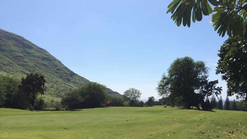Makaha Valley 9th hole