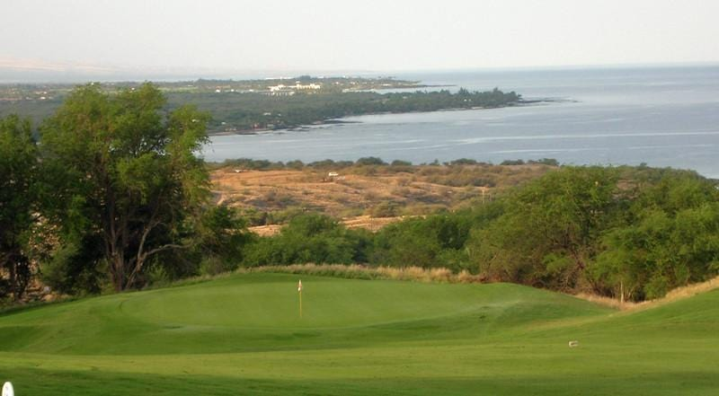 Hapuna Golf Course view