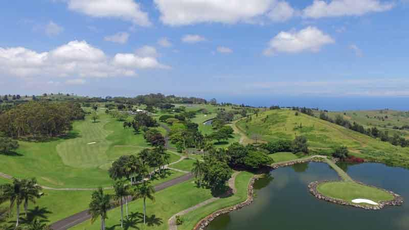 Makani Golf Aerial View Hawaii Tee Times