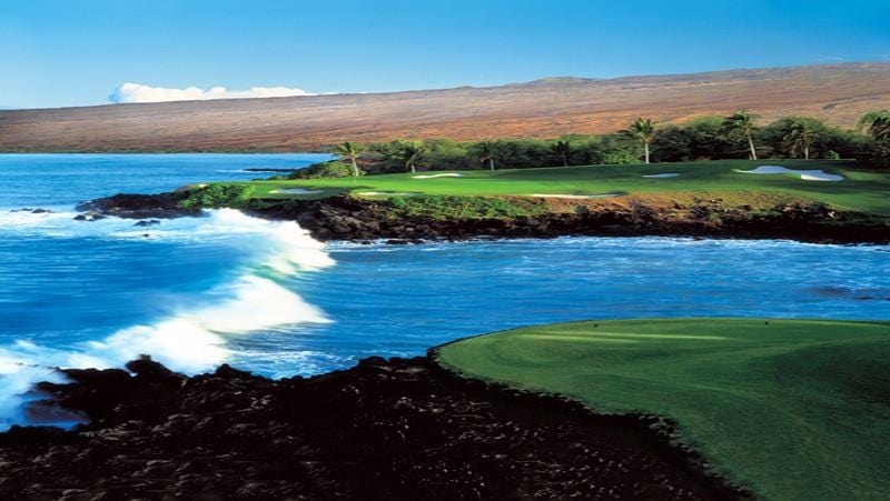 Mauna Kea teebox from signature  3rd hole