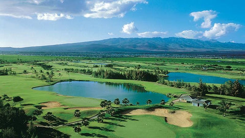Hawaii Prince Golf Course aerial view