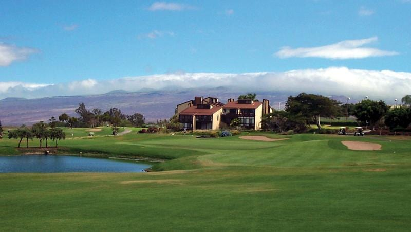Waikoloa Village front nine holes