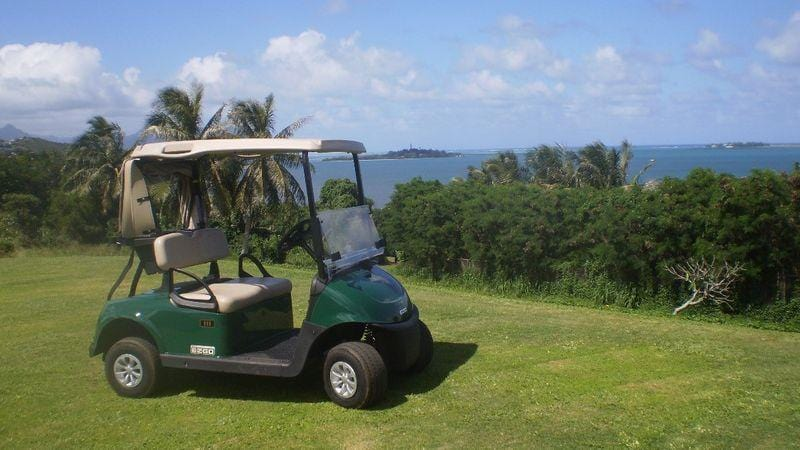 Bay View Golf Park, Golf Cart