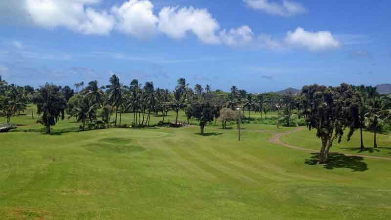 Bay View beautiful 8th green on the windward side of Oahu
