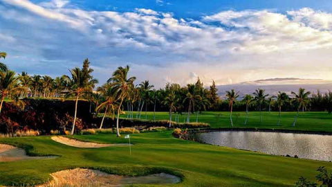 Beautiful golf at Waikoloa Beach on The Big Island