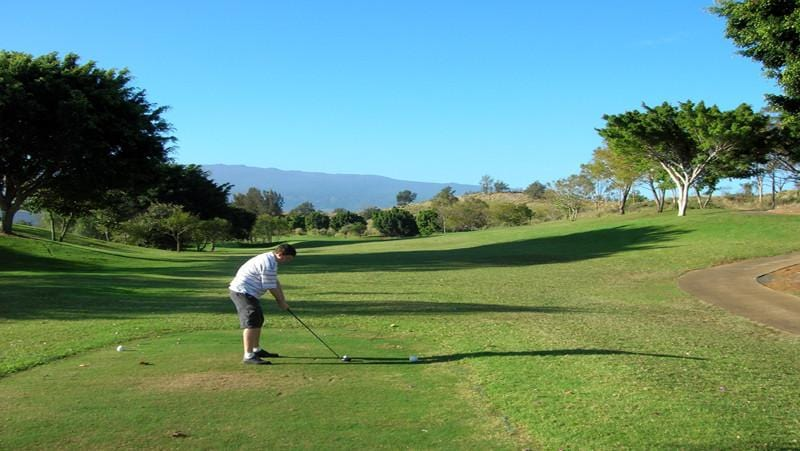 Big Island Country Club Teebox