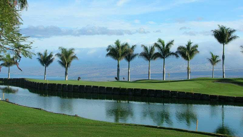 Big Island Country Club Water view
