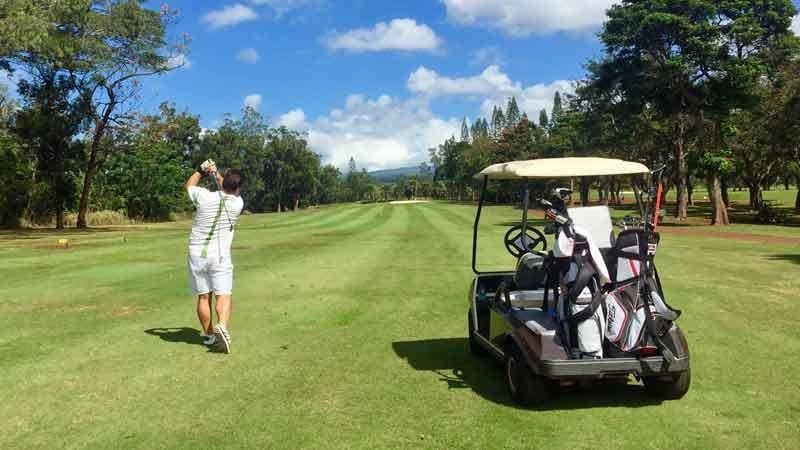 Mililani Golf 4th hole Hawaii Tee Times