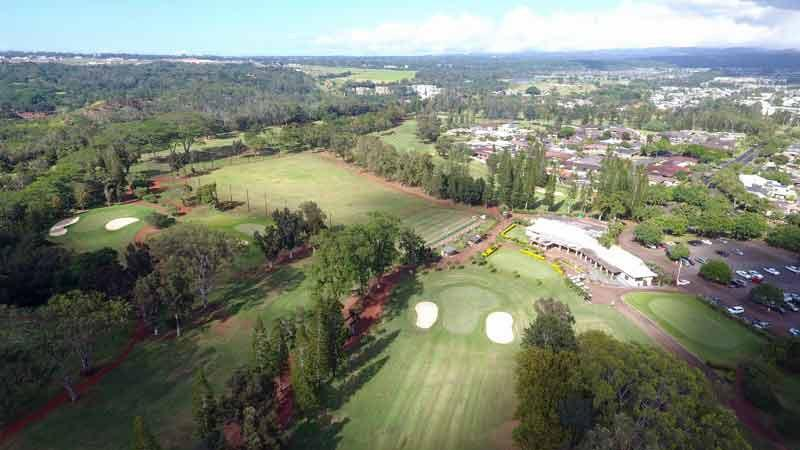 Mililani Golf Course Hawaii Tee Times Drone