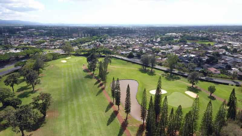 Mililani Aerail Video Hawai Tee Times
