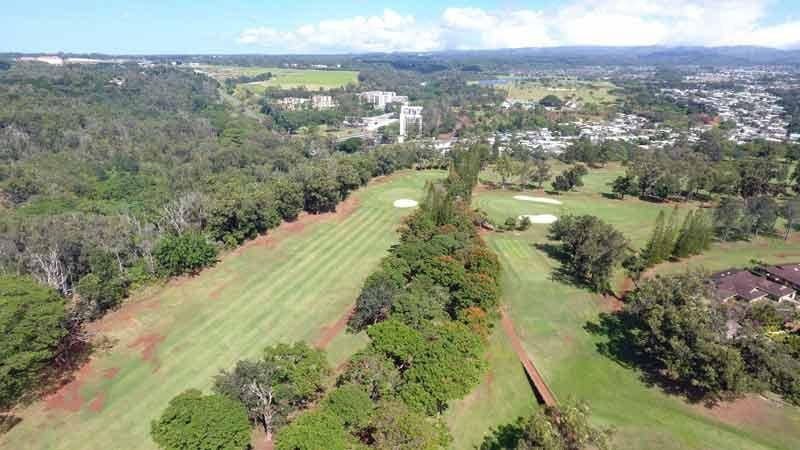 Mililani Golf With Hawaii Tee Times Drone Images
