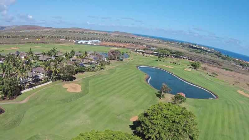 Kiahuna 10-18 holes from Hawaii Tee Times Drone