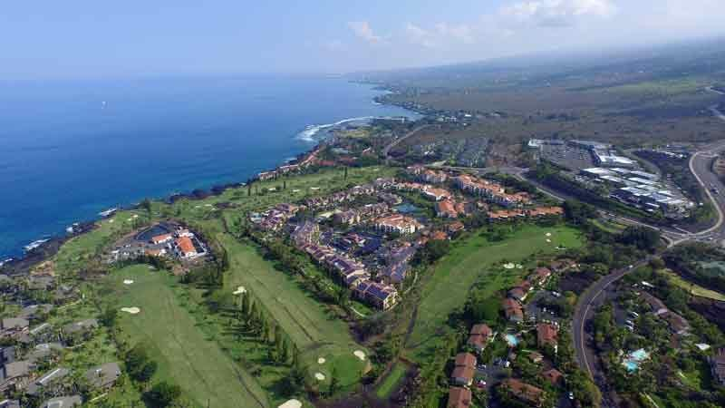 Kona Country Club back nine June 2015 Hawaii Tee Times