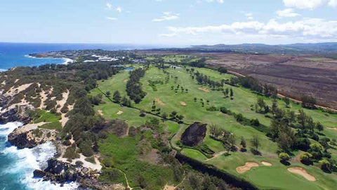 Poipu Bay amazing ocen holes hawaii tee times