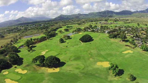 Aerial view of Kiahuna with Hawaii Tee Times Drone