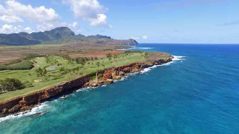 poipu bay 15tee from the ocean Hawaii Tee Times