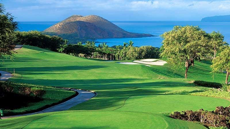 Wailea Emerald Finishing Hole From Hawaii Tee Times