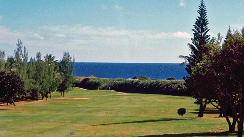 Hawaii Kai Golf Course with great views of ocean