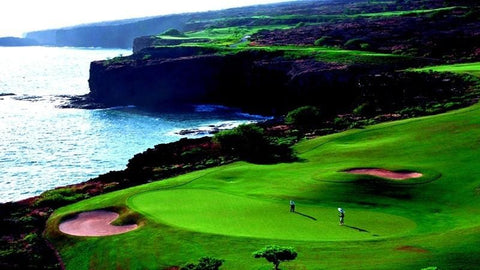 The challenge at Manele hawaii TeeTimes