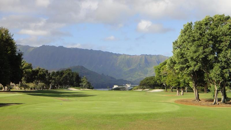 Princeville Makai Golf 2nd hole teebox