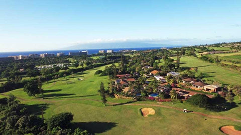 Kaanapali Kai Ocean Views of front nine and ocean